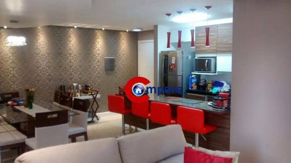 Apartamento Residencial À Venda, Vila Augusta, Guarulhos. - Ap5101