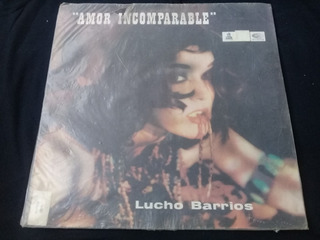 Vinilo Lp Lucho Barrios Amor Incomparable