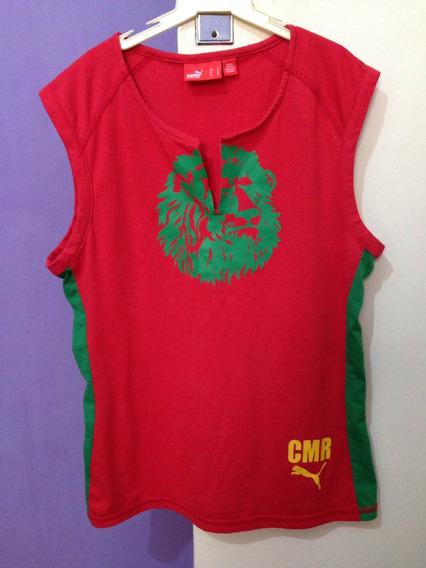 Blusa Regata Puma Original Tamanho P Vermelha