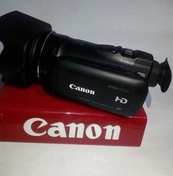 Filmadora Profissional Canon Vixia Hf G20 +bolsa