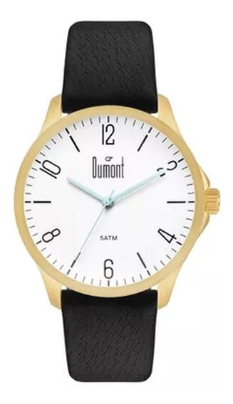 Relógio Masculino Dumont Berlim Du2035lvv/2b Dourado