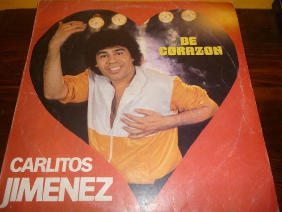 Lp Vinilo - Carlitos La Mona Jiménez - De Corazón -muy Bueno