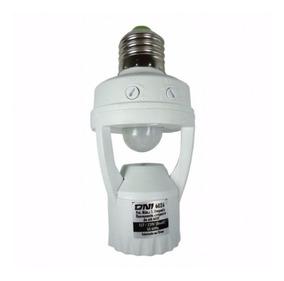 Sensor De Presença Soquete E27 Lâmpada Iluminação Até 60w
