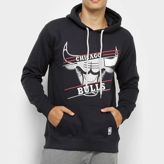 Casaco Moletom Chicago Bulls Basic - Nba