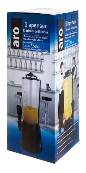 Dispenser De Bebidas Aro 2.5 Lt