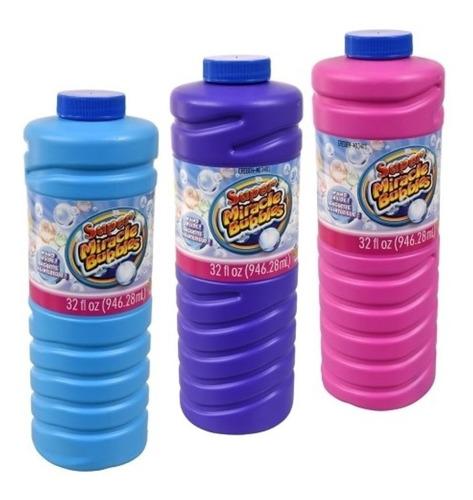 Botella Liquido Jabón Burbujas Fiesta Niños 1 Litro