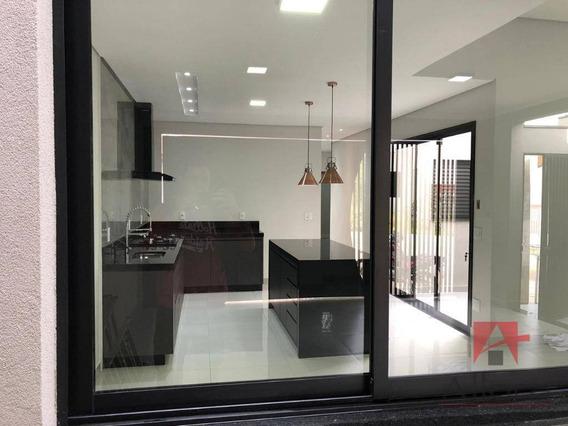Linda Casa Térrea Com 3 Dormitórios, Sendo 1 Suíte À Venda Com Fino Acababento - Quinta Dos Vinhedos - Bragança Paulista/sp - Ca1054