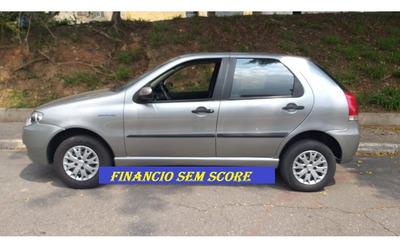Fiat Palio 2008 Chumbo Financiamento Com Baixo Score