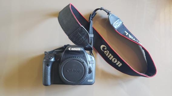 Canon 500d Em Perfeito Estado Impecácel + Tripé Joby Grátis