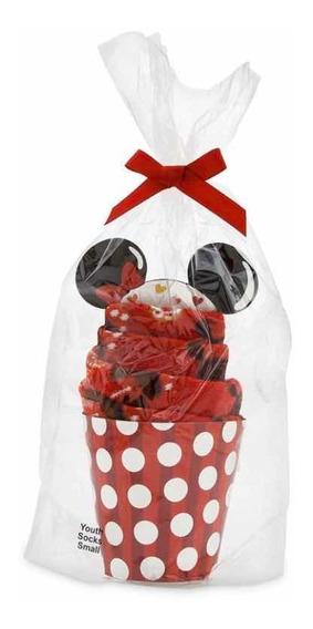 Meias Da Disney Cake - Ícones De Comida Da Minnie Mouse