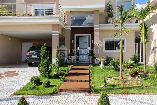 Casa À Venda, 389 M² Por R$ 1.900.000,00 - Condomínio Villa Lobos - Paulínia/sp - Ca0849