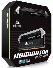 Memória Corsair Dominator Platinum 16gb (2x8gb) Ddr4 3200mhz