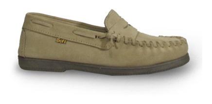 Soft 740-1 Zapato Náutico Mocasín Indio Vincha Hombre