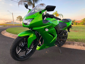Kawasaki Ninja 250r 1895 Km Estado De Zero Km Aceito Troca
