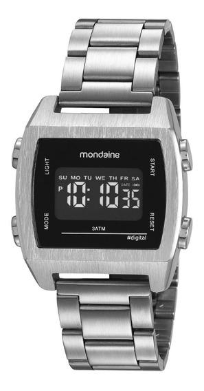 Relógio Masculino Mondaine Vintage Prata 99395g0mvne3 Digita