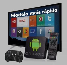 Aparelho Transformar Tv Em Smart Android+teclado Smart C/led