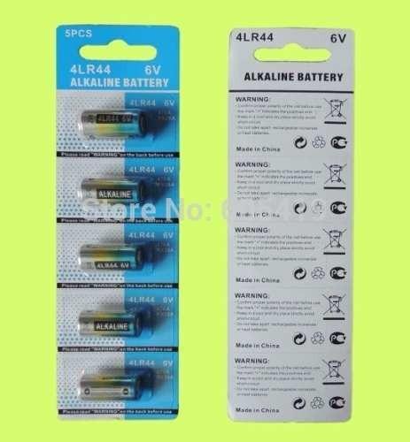 Pilha Bateria 4lr44 6v Coleira Anti Latido - 5 Unidades