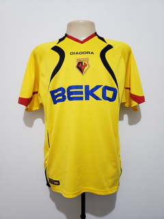 Camisa Oficial Watford Inglaterra 2007 Home Diadora Tam G