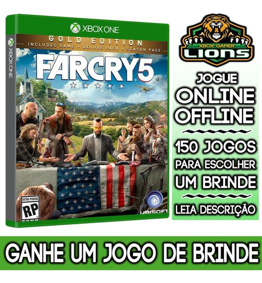 Far Cry 5 Gold Edition Xbox One + Brinde