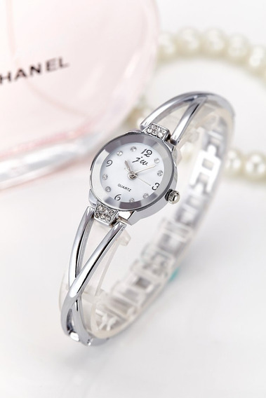 Reloj Mujer Mamá Novia Piedras De Lujo Fantasía Brazalete