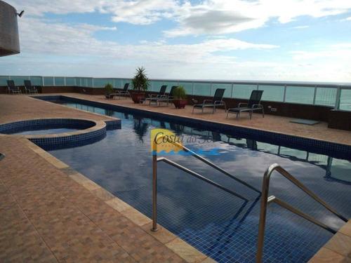 Imagem 1 de 30 de Apartamento Com 4 Dormitórios À Venda, 156 M² Por R$ 979.000,00 - Vila Guilhermina - Praia Grande/sp - Ap15668