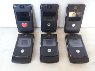 Lote De 6 Motorola V3 (com Detalhes)