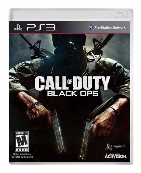 Jogo Call Of Duty Black Ops Ps3 Usado
