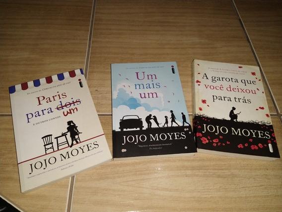 Kit 3 Livros Jojo Moyes (a Garota Que Você Deixou Para Trás)