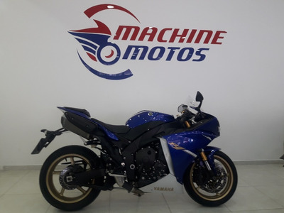 Yamaha Yzf R 1 2013 Azul Impecavel