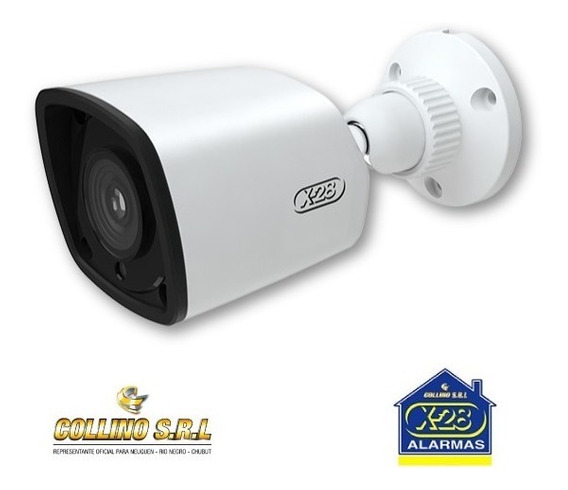 Cámara Bullet A2000 X28 Alarmas Fullhd 1080p 2m Ip66 Metal