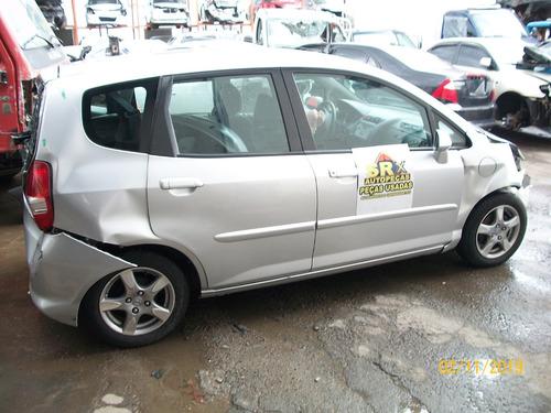 Sucata Honda Fit Lxl 1.4 Flex Mec 2008 Retirada De Peças