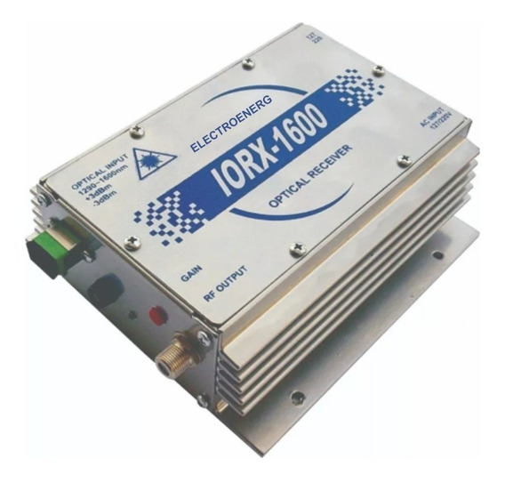 Receptor De Fibra Óptico Iorx1600
