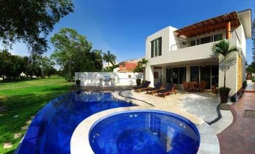 Encantadora Residencia En Marina Vallarta Fte A Campo De Golf