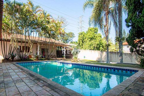Casa Com 3 Dormitórios À Venda, 450 M² Por R$ 1.200.000,00 - Chácara Canta Galo - Cotia/sp - Ca0130