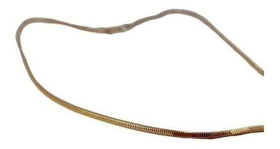 Colar Cordão Veneziano Rabo Especial 42cm Ouro 18k - 2049