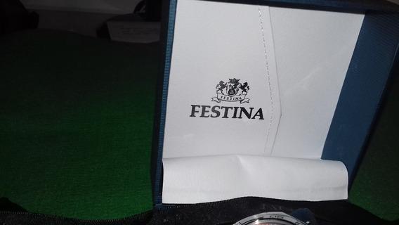 #224 Relógio Festina Chronograph Original- Usado