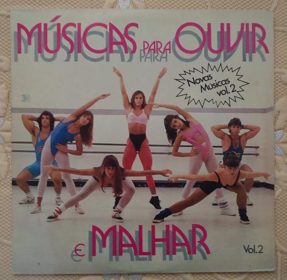 Lp Músicas Para Ouvir E Malhar Volume 02 Le Freak Macho Man