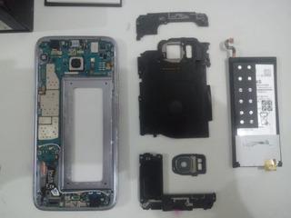 Samsung S7 Edge Com Display Quebrado Completo Funcionando