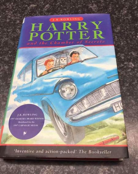Harry Potter E A Câmara Secreta 1a Edição Inglesa