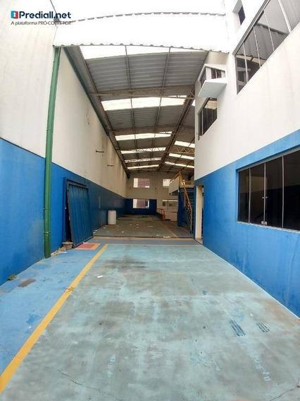 Galpão Para Alugar, 554 M² Por R$ 7.000 - Piqueri - São Paulo/sp - Ga0083
