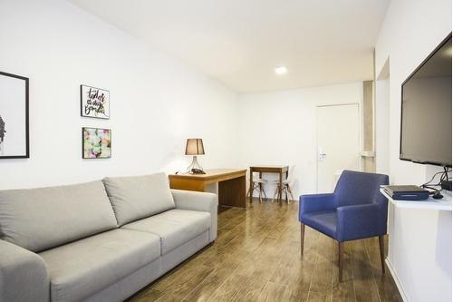 Park Avenue -  Exclusivo Flat Mobiliado Nos Jardins Com 2 Dorm. - Sf25162