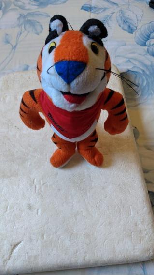 Tigre Em Pelúcia Da Kellogs, 18 Cm