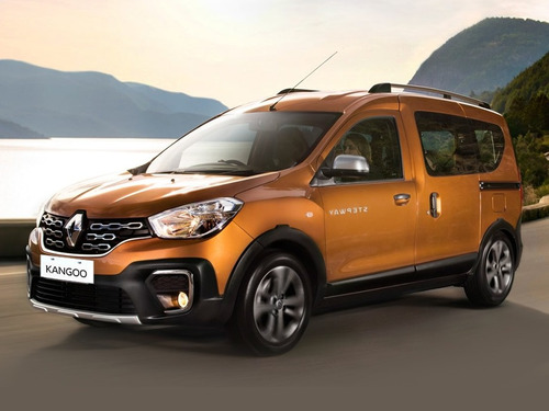 Renault Kangoo Ii Stepway Diesel Negro 0km 2021 Contado