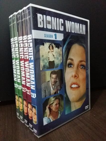 Box A Mulher Bionica Série Tv Completa (16 Dvds)