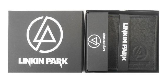 Cartera Piel Linkin Park