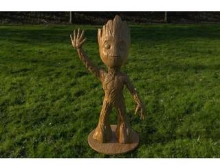 Baby Groot Saludando 15cm Guardianes De La Galaxia