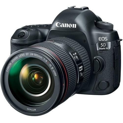 Canon 5d Mark Iv + 24-105mm F/4l Is Ii Usm - Loja Platinum
