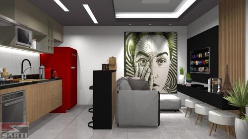 Imagem 1 de 15 de Apartamentos De 37 A 48 M² - A Partir De R$ 220.000,00 - St16750