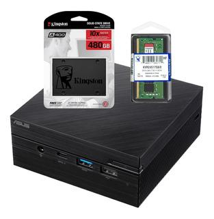 Mini Pc Asus Pn60-b Intel I5-8250u Bt Wifi Hdmi 4k 480gb 8gb