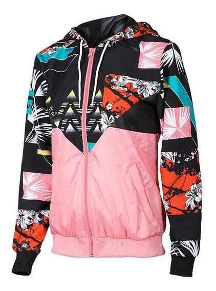 Jaqueta adidas Corta Vento Feminina Originals Rosa